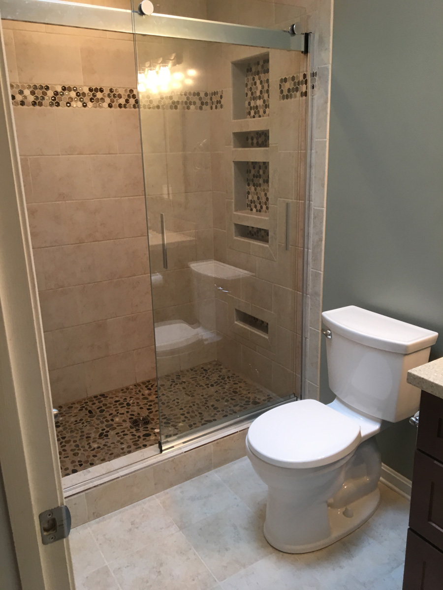 Bathroom tile gallery mirrored tiles bathroom bathroom for Bath remodel financing