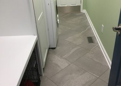 Mudroom with kennel