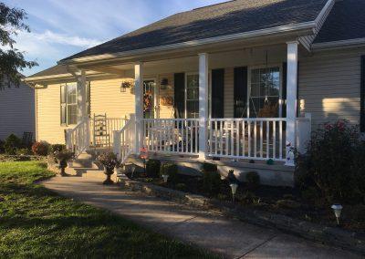 Updated rancher porch
