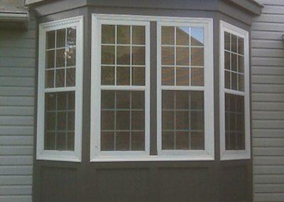 Restored bay window