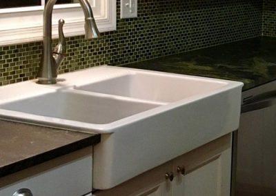 Nostalgic double farm sink
