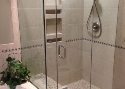 Luxury shower with seat 500